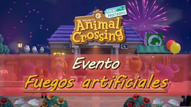 Fuegos artificiales en Animal Crossing New Horizons: fechas y premios