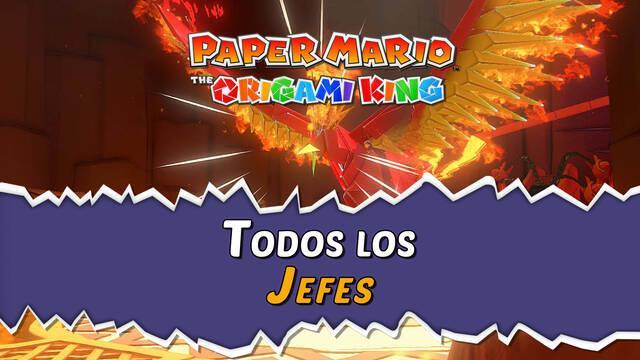 TODOS los jefes finales de Paper Mario: The Origami King y cómo derrotarlos