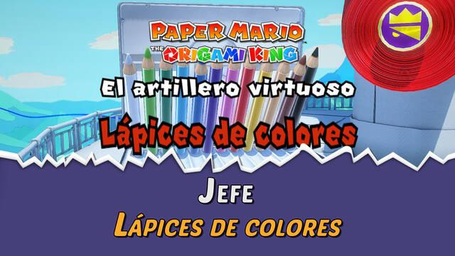 Lápices de colores en Paper Mario The Origami King: Consejos y estrategias