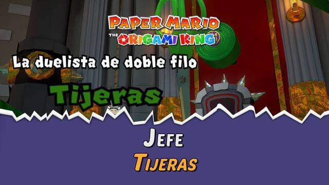 Tijeras en Paper Mario The Origami King: Consejos y estrategias