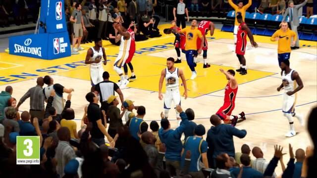 Así es la jugabilidad de NBA 2K21.