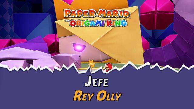 Rey Olly en Paper Mario The Origami King: Consejos y estrategias