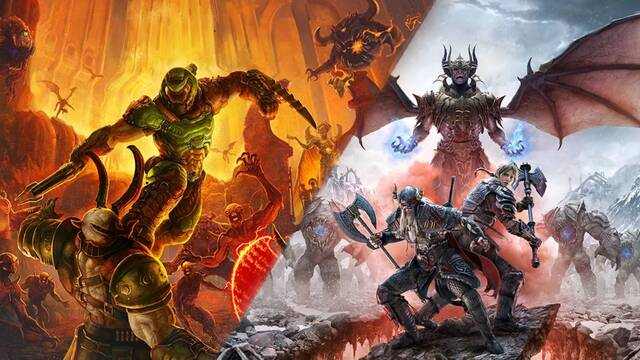 Doom Eternal y The Elder Scrolls Online llegarán a PS5 y Xbox Series X.