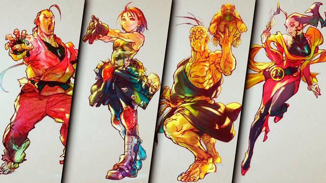 Street Fighter 5 nuevos luchadores 2021