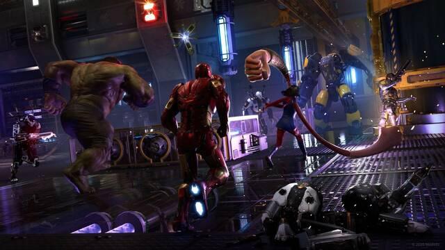 Ya disponible la beta de Marvel's Avengers en PS4.