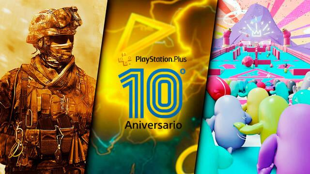 PS Plus 10 aniversario