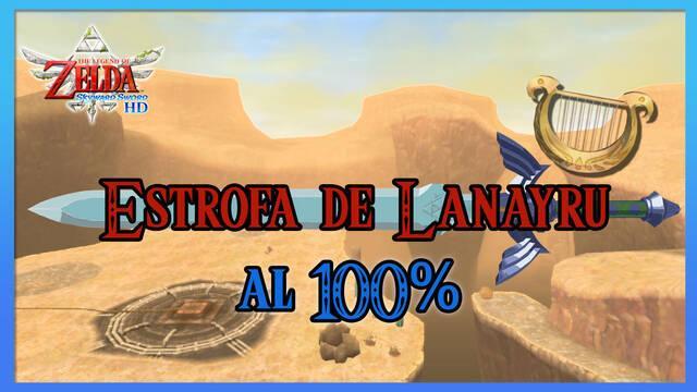 Estrofa de la región de Lanayru al 100% en The Legend of Zelda: Skyward Sword HD