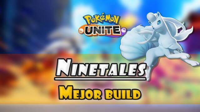 Ninetales de Alola en Pokémon Unite: Mejor build, objetos, ataques y consejos