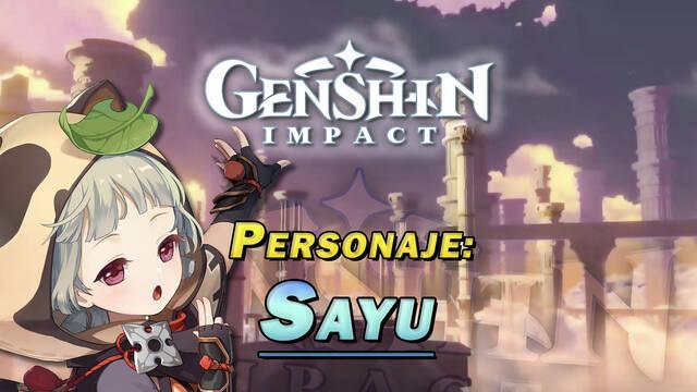 Sayu en Genshin Impact: Cómo conseguirla y habilidades