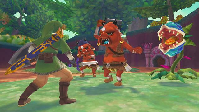 The Legend of Zelda: Skyward Sword HD recibe una actualización que corrige varios problemas