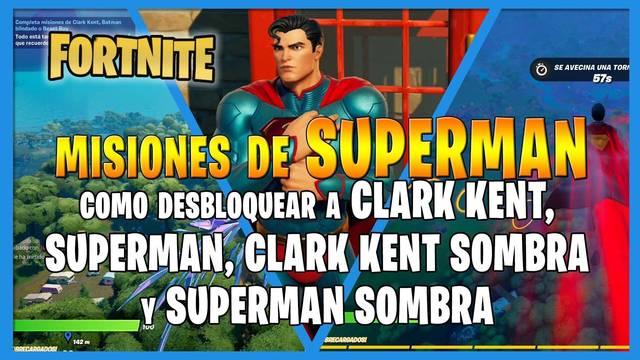 Fortnite: cómo desbloquear a Superman y Superman Sombra