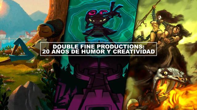 Double Fine Productions: 20 años de humor y creatividad
