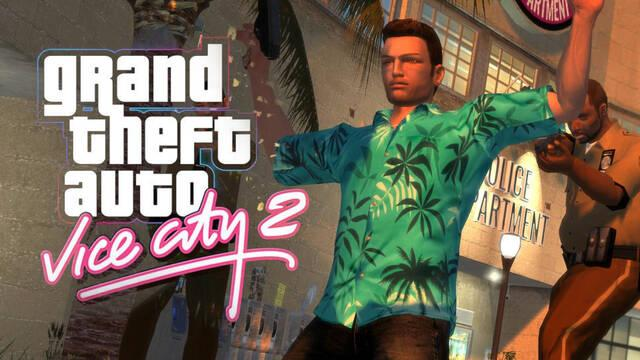 Ya disponible GTA Vice City 2, un 'remake' creado por fans utilizando el motor de GTA IV.