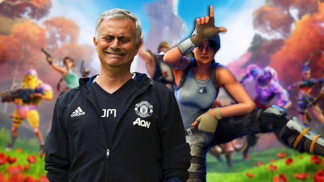 El entrenador José Mourinho critica a Fortnite.
