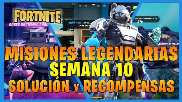 Fortnite T7: Misiones legendarias (Semana 10) - Solución y recompensas