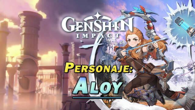 Aloy en Genshin Impact: Cómo conseguirla gratis y habilidades