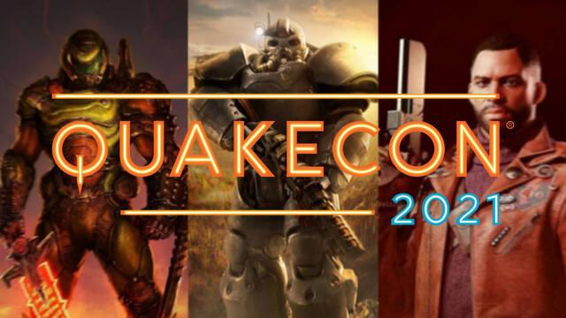 QuakeCon 2021 calendario programación