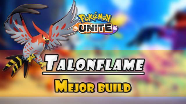 Talonflame en Pokémon Unite: Mejor build, objetos, ataques y consejos