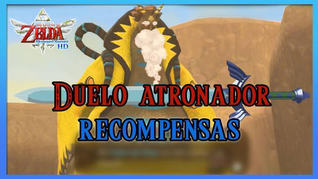 Duelo atronador en TLoZ: Skyward Sword HD: Todas las recompensas y cómo jugar