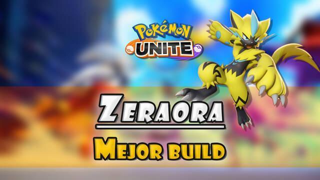 Zeraora en Pokémon Unite: Mejor build, objetos, ataques y consejos