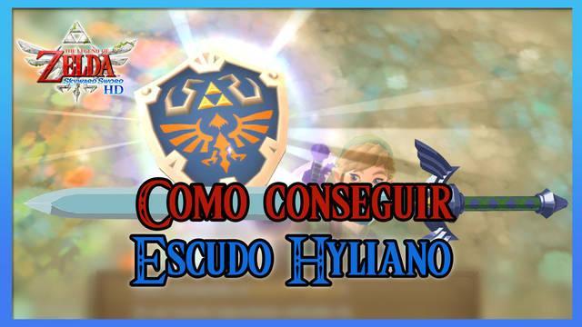 Cómo conseguir el escudo Hyliano en The Legend of Zelda: Skyward Sword HD