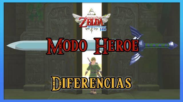 Modo Héroe en TLoZ: Skyward Sword HD - Todas las diferencias y cambios