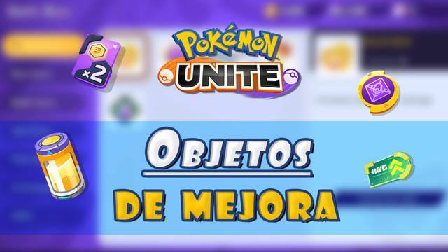Pokémon Unite: Todos los objetos de mejora, efectos y cómo conseguirlos