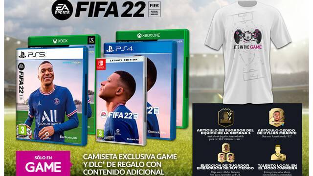 FIFA 22 en GAME