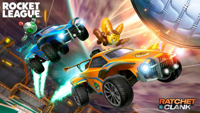 Rocket League llega a PS5 con un pack de Ratchet and Clank de regalo.