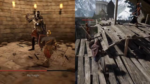 Recrean Undead Burg de Dark Souls con Unreal Engine 4; luce espectacular