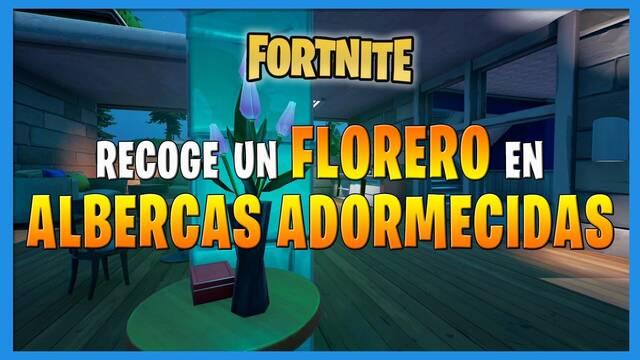 Fortnite: dónde encontrar un florero en Albercas Adormecidas
