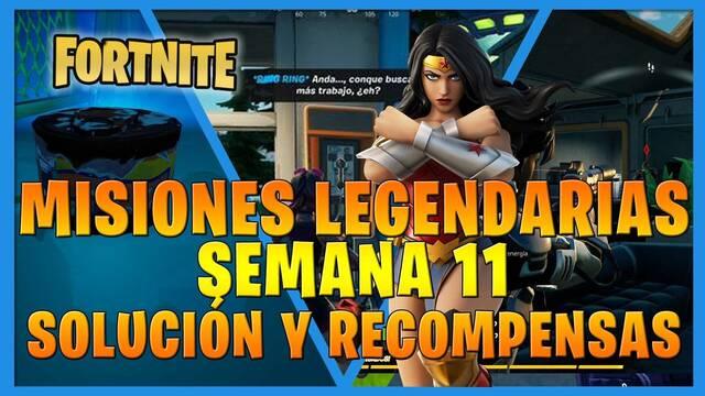 Fortnite T7: Misiones legendarias (Semana 11) - Solución y recompensas