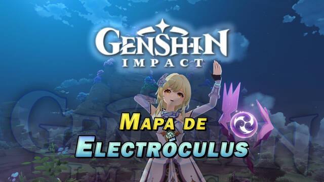 Electróculus de Genshin Impact: Localización de TODOS los orbes de Inazuma