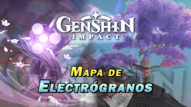 Electrógranos en Genshin Impact: LOCALIZACIÓN y recompensas del Cerezo Sagrado