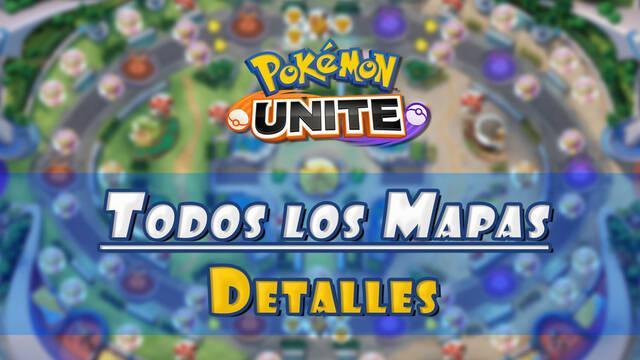 Mapas de Pokémon Unite: Zonas de combate, características y detalles