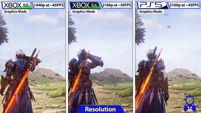 Tales of Arise recibe una comparativa gráfica en sus versiones de PS4/PS5 y Xbox One y Series X/S