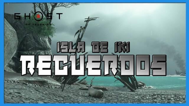 TODOS los recuerdos en Ghost of Tsushima: Isla de Iki