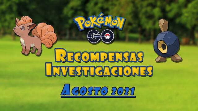 Pokémon GO - Tareas, shinys y recompensas de agosto 2021