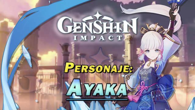 Kamisato Ayaka en Genshin Impact: Cómo conseguirla y habilidades