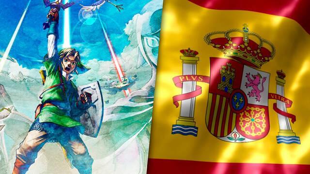 Zelda: Skyward Sword HD el más vendido en España durante su debut