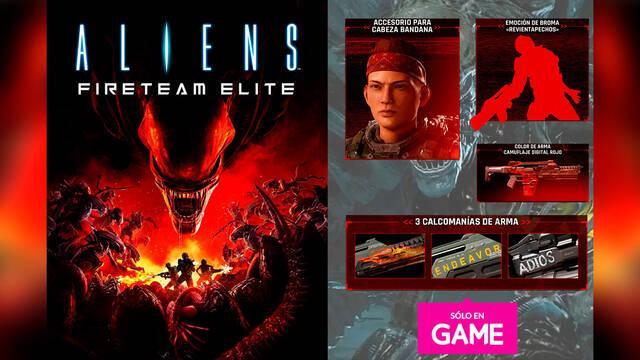 Aliens: Fireteam Elite DLC exclusivo por reservas en GAME