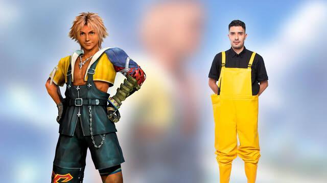 Final Fantasy X Tidus nació como un fontanero