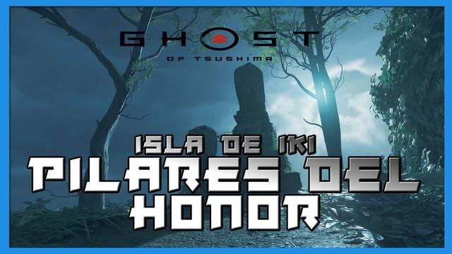 TODOS los pilares del honor en Ghost of Tsushima: Isla de Iki