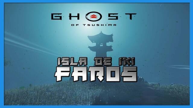 TODOS los faros en Ghost of Tsushima: Isla de Iki