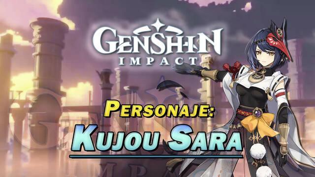 Kujou Sara en Genshin Impact: Cómo conseguirla y habilidades
