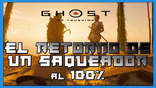 El retorno de un saqueador al 100% en Ghost of Tsushima: Isla de Iki