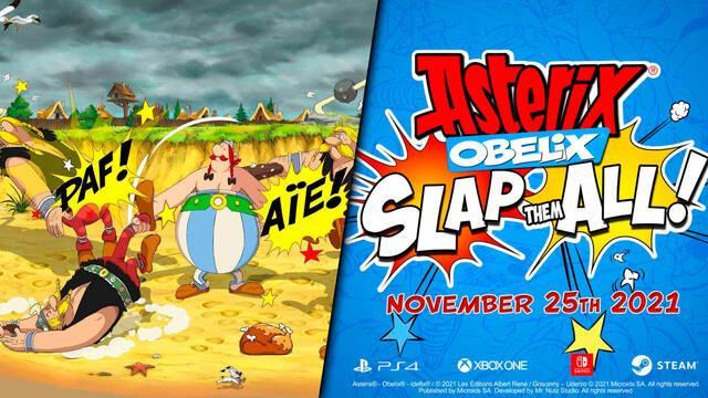 Asterix and Obelix: Slap Them All ya tiene fecha de lanzamiento en PS4, Xbox One, PC y Switch.