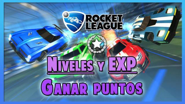 Rocket League: Cómo ganar puntos y XP rápido, subir niveles y acciones premiadas