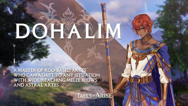 Tales of Arise presenta a Dohalim