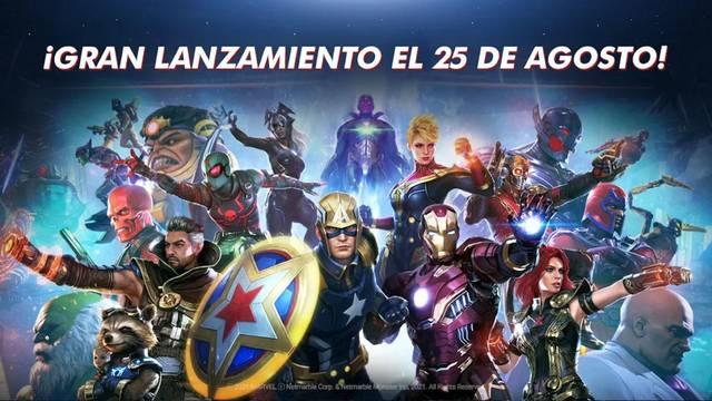 Marvel Future Revolution ya disponible en iOS y Android.